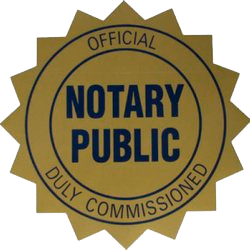 offical notary public